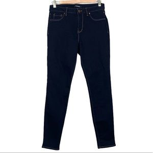 d. jeans Skinny Dark Wash High Rise Jeans 6